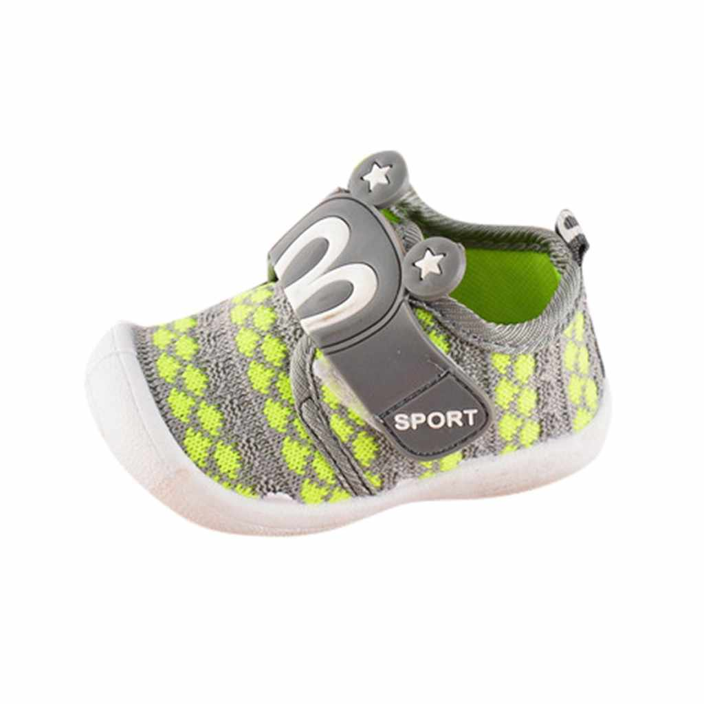 Kids Cute Sneaker Toddler Kid Single Soft Sole Shoes