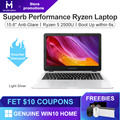 Ноутбук MAIBENBEN DaMai E526 15 6 дюйма/AMD Ryzen 5 2500U / Radeon Vega 8/8 ГБ 16 ГБ ОЗУ/240 ГБ/256 ГБ PCI-E/480 ГБ SSD/1 ТБ HDD/DOS/Win10