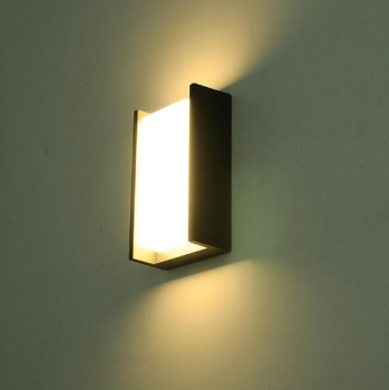 Creative door light balcony waterproof wall lamp LED courtyard Chinese modern minimalist home exterior wall outdoor wall lamp