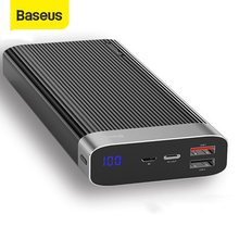 Baseus QC3.0 Power Bank 20000mAh Portable External Battery P