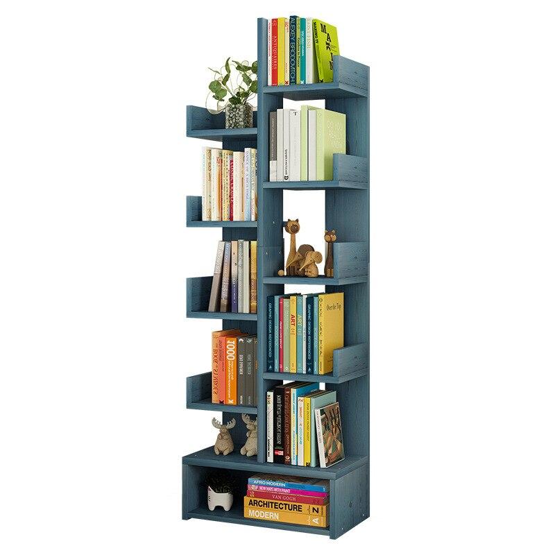 K-STAR, estantería creativa, estantería, estantería sencilla para salón, almacenamiento en habitación, Mesa, estudiante, suelo del hogar, económico, sencillo