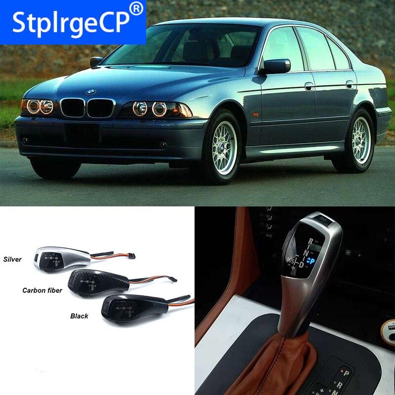 Levier de LED de pommeau de levier de vitesse manette de vitesse de haute qualité pour BMW série 5 1996-2003 E39 4D berline 5D Touring accessoires de voiture