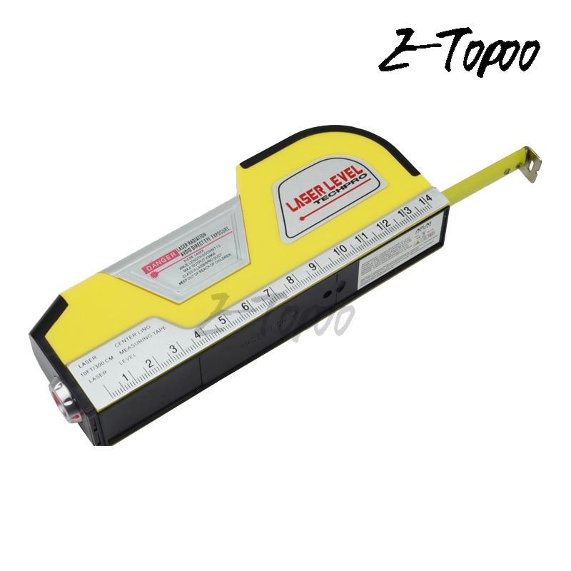 3in1 = laser ebene + maßband + wasserwaage bau Hand Werkzeug lineal Winkelmesser Inclino meter center line instrument