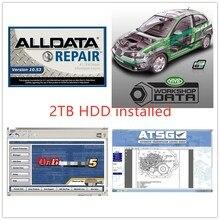2020 software alldata 10.53v mit//chell od 5 data de reparação automóvel 7 software usb 3.0 em 2tb oficina frete grátis