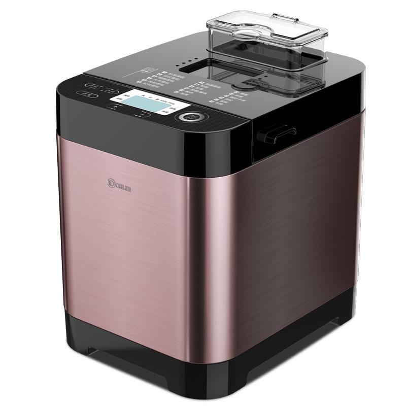 Donlim/DF DL-T06S-K Bread Machine Household Fully Automatic Knead Dough Multi-functional Sprinkle Yogurt
