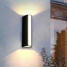 LED Wall Light Outdoor Waterproof IP65 Wall Lamp Home Sconce Indoor Decoration Lighting Lamp  garden villa balcony lamp