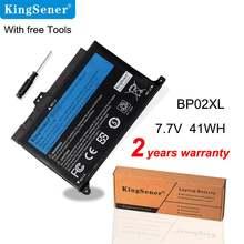 Аккумулятор kingsener bp02xl для ноутбука hp pavilion pc 15