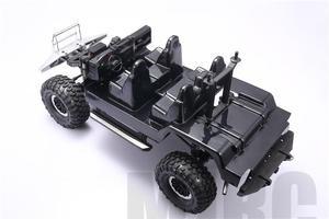 Image 4 - Simulation Transparent Interior Trim For Trx4 Defender TRAXXAS TRX 4 Trx4 82056 4 Cockpit Seat Dash Board Steering Wheel  (1kit)