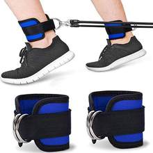 Fitness Resistance Bands Ankle Straps Neoprene Padded Ankle Cuffs For Cable Machines Leg Gym Workout(China)