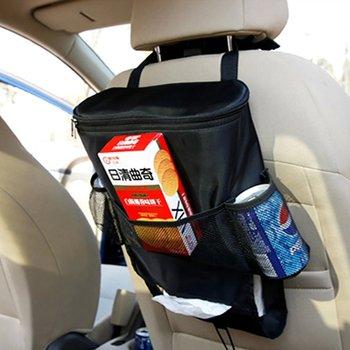 Multi-Pocket Large Capacity Car Backrest Storage Bag With Insulation And Cooling Design Wholesale