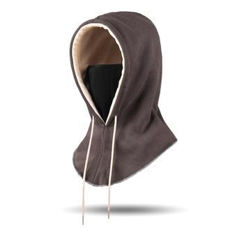 Χειμερινή κουκούλα μάσκα fleece με εσωτερική επένδυση για εξαιρετικά χαμηλές θερμοκρασίες