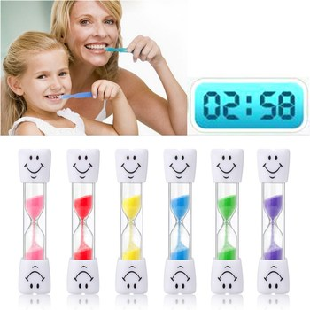 Sand Clock 3 Minutes Smiling Face The Hourglass Decorative Household Items Kids Toothbrush Timer Sand Clock Gifts недорого