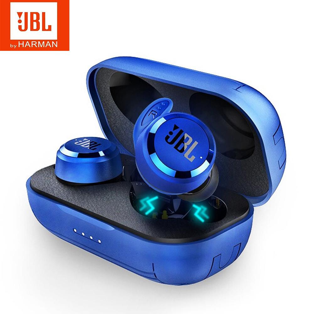 JBL T280 TWS Wireless Bluetooth Earphone Sports Earbuds Deep Bass Headphones Waterproof Headset with Mic Charging Case