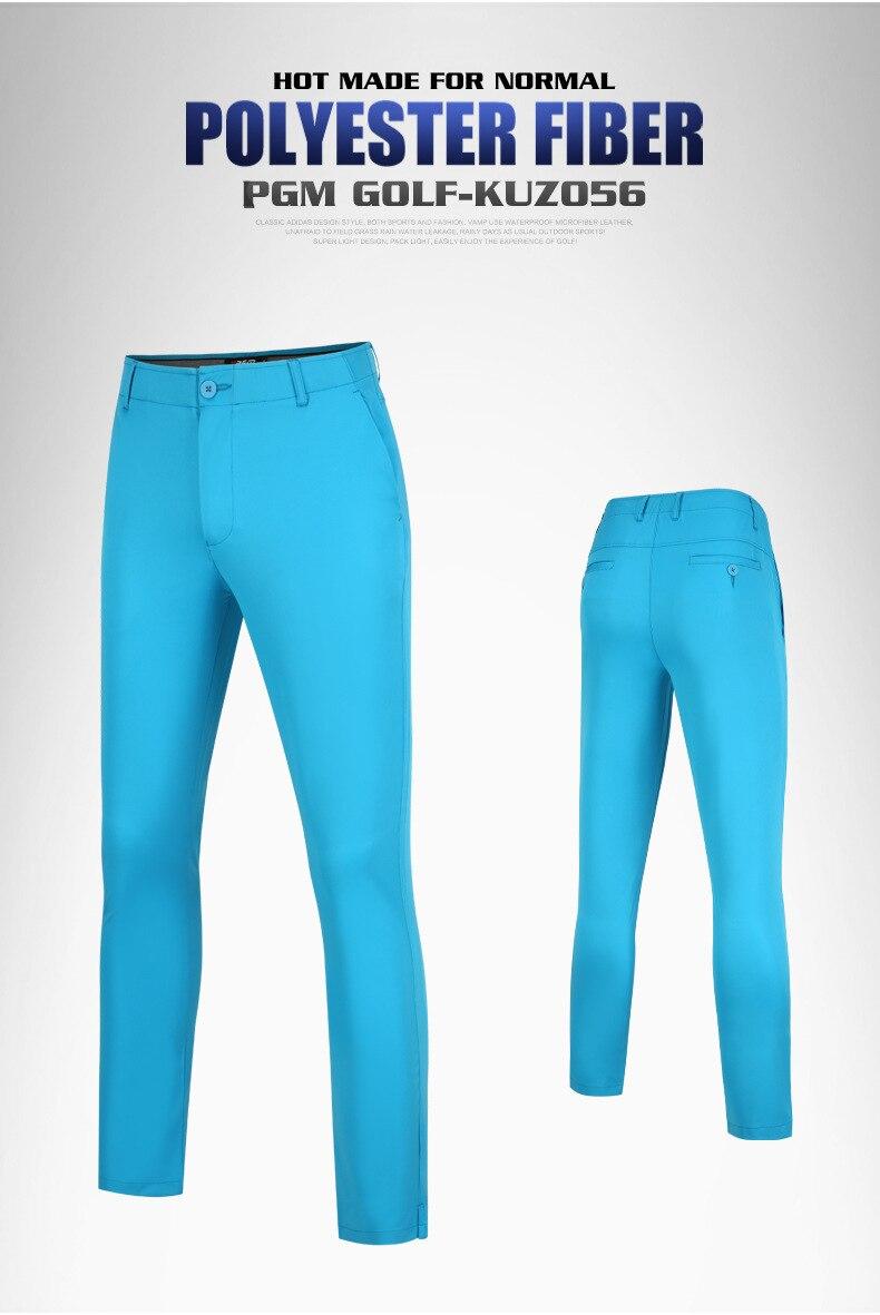 Pgm 2020 novo outono calças de golfe