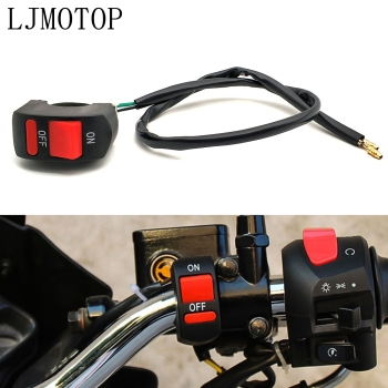 Universal Motorcycle Switches Connector Handlebar Switches ON/OFF Button For Honda cbr 600rr 600 rr 1000rr 1100xx 1100 xx 929 image