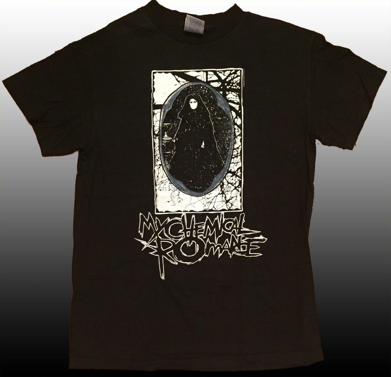 Vintage Rare MCR My Chemical Romance 2006 Emo Helena T Shirt Size S-2XL Reprint