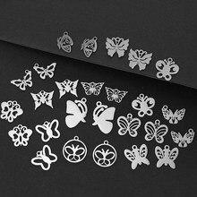 10 peças colante de mariposa hueca de estilo simples acessórios de bricolaje de moda para mujer com glamour