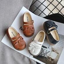 Новинка осени 2020 милая повседневная обувь с бахромой для девочек