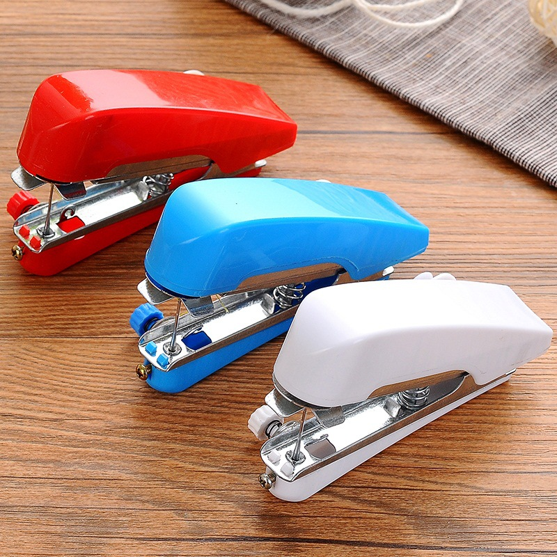 Portable Mini Manual Sewing Machine For Home Use Small Pocket Outdoor Travel Sewing Machine Diy Tools Killing Time Tools