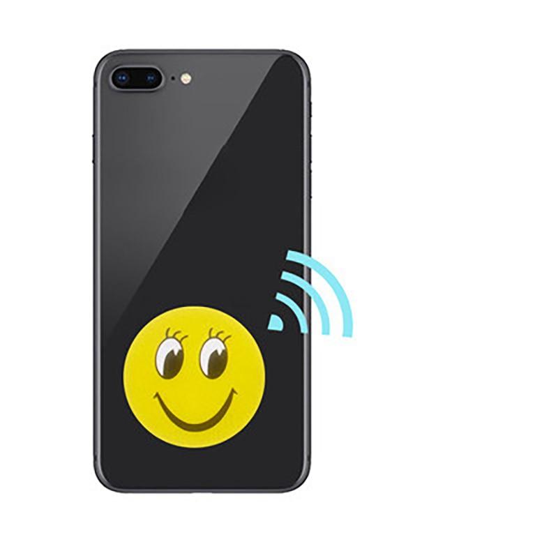 1 шт. сменных маркеров UID Сменные наклейки RFID теги блок 0 перезаписываемый 13,56 МГц анти металлические помехи мультфильм метки наклейки карточ...