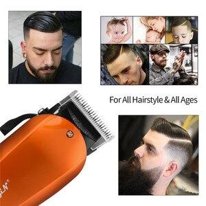 Image 3 - Power Professional Hair Clipper Electric Hair Trimmer Machine Hair Cutting Beard Razor Haircut maquina de cortar cabelo 44