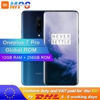 Original Global ROM Oneplus 7 Pro 12GB 256GB Smartphone Snapdragon 855 6.67 Inch 90Hz 48MP Camera AMOLED Display Fingerprint ID