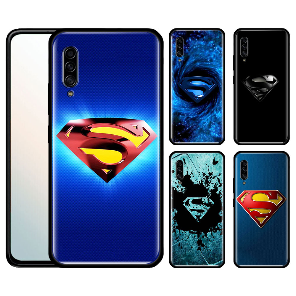 <font><b>Case</b></font> for <font><b>Samsung</b></font> <font><b>Galaxy</b></font> A50 A70 A71 A51 A10 A10E A10S A20 A21 A20E A20S <font><b>A30</b></font> A30S A90 5G Fall Fundas <font><b>Marvel</b></font> superman <font><b>Logo</b></font> image