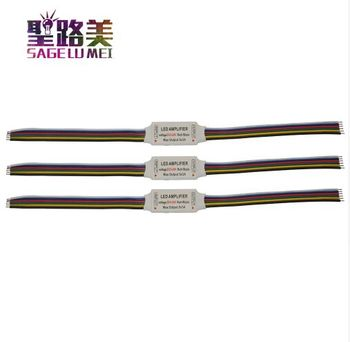 6pin RGB kontroler RGBW wzmacniacz LED DC 5V 12V 24V taśmy Led regenerator sygnału akcesoria do RGB RGBW RGB + CCT taśmy tanie i dobre opinie SAGE LU MEI CN (pochodzenie) LED RGB+CCT Amplifier Plastic 1 year LED RGB+CCT Strip ROHS wire connection 5-24 v