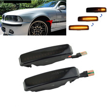 For BMW 5 Series E39 525i 528i 530i 540i 1995-2003 M5 Car Side Body LED Dynamic Turn Signal Light Sequential Blinker Lamp