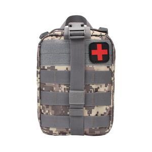 Image 5 - Camping Ehbo kit Tactische Medische Draagbare Militaire Hike Geneeskunde Pakket Emergency Oxford Doek Taille Verpakking Grote Lege Zak