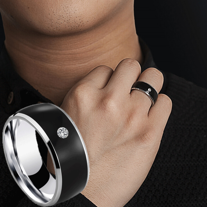 NFC Smart Wearable Ring New Technology For Windows IOS Android Mobile Phone  Smart Jewelry