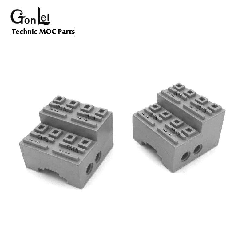 A função de energia da técnica moc parte o cubo elétrico para 23011 fora-estrada peças do veículo modelo kits de construção blocos brinquedos educativos dos tijolos