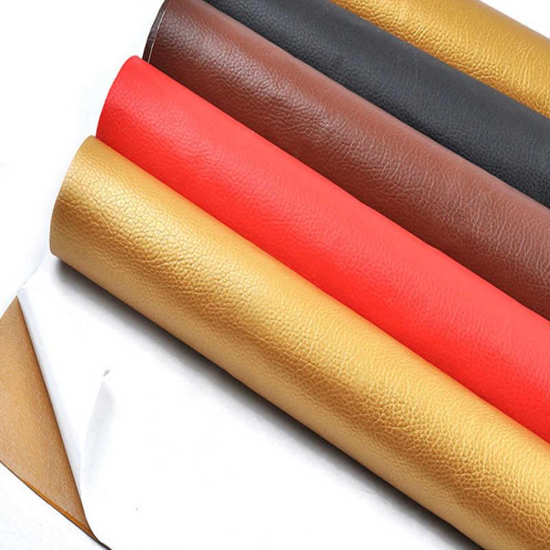 50x135 centimetri di Grandi dimensioni in pelle di patch Self Adhesive Stick-on Nessun Rivestire di Ferro Divano Riparazione Cuoio DELL'UNITÀ di elaborazione di Tessuto adesivi Toppe e Stemmi Scrapbook