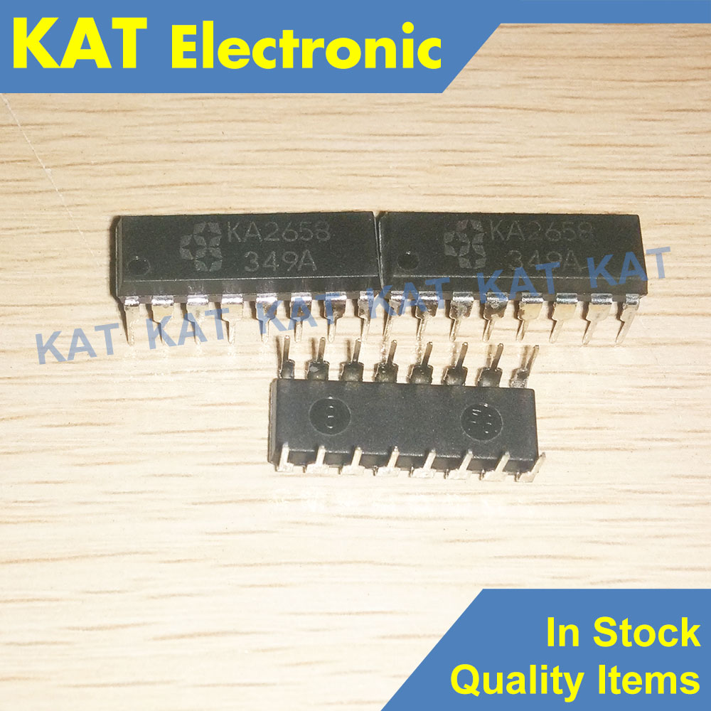5PCS/Lot KA2658 KA2658N DIP-16 HIGH VOLTAGE, HIGH CURRENT DARINGTON ARRAYS