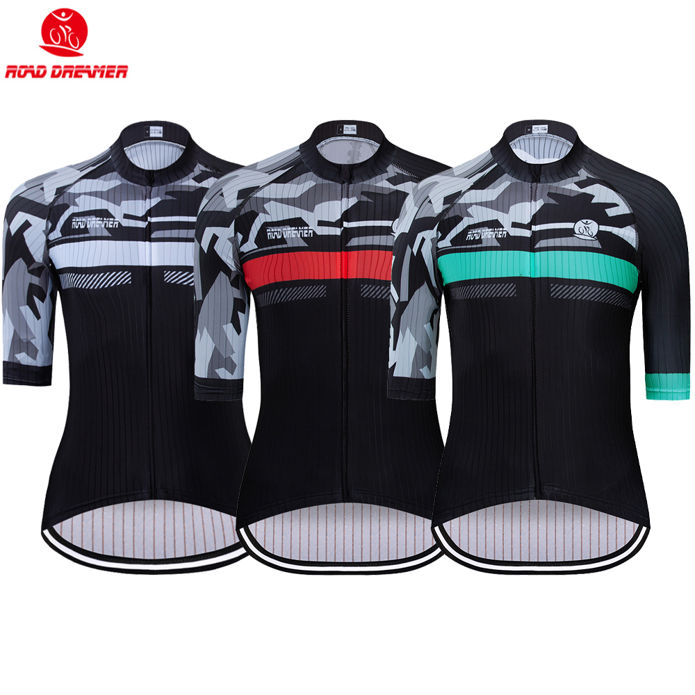 Bike Jersey Short-Sleeve Triathlon Maillot-Ciclismo Women New Mtb Lycra Breathable Multiple-Styles