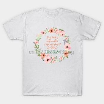 Camiseta para hombre, camiseta Jane Austen, camiseta con frase para mujer