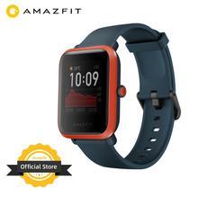 新グローバルバージョンamazfit bipスマート · ウォッチgps glonassスマートウォッチ腕時計 45 日スタンバイアンドロイド携帯電話のイオス