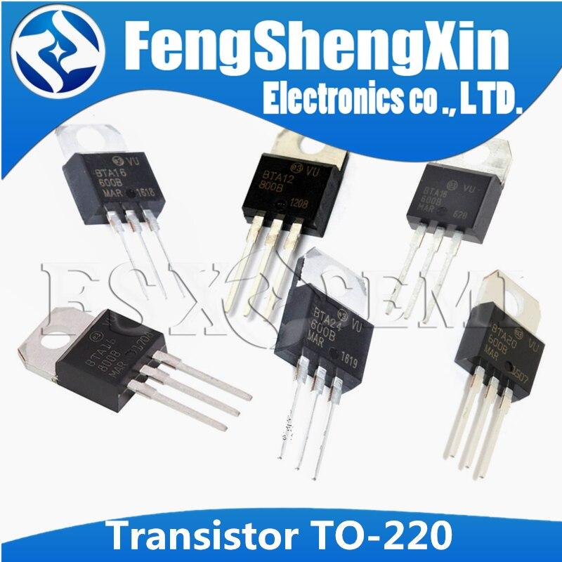 100 шт. Новый BTA12 600B BTA12 800B BTA16 600B BTA16 800B BTA20 600B BTA24 600B LM317T IRF3205 транзистор BTA24 800B|Интегральные схемы|   | АлиЭкспресс