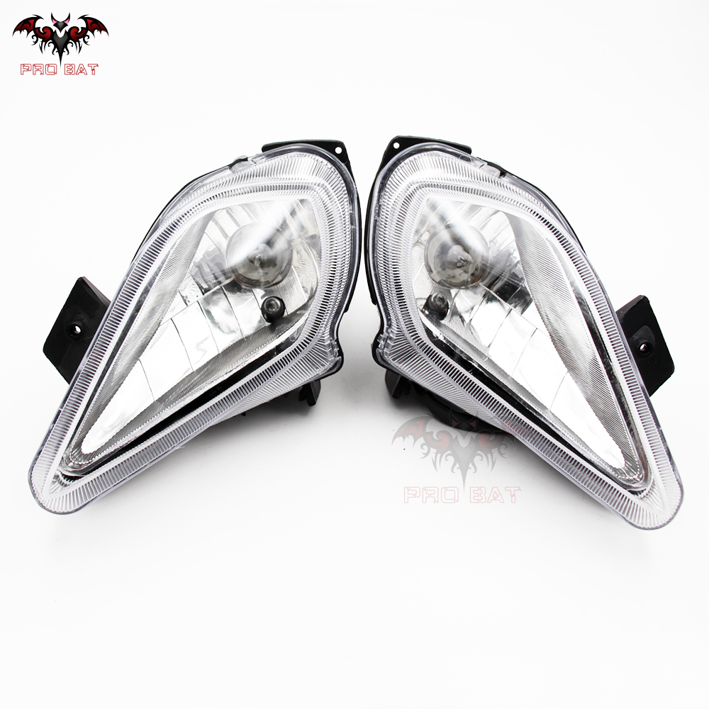 4 Wires ATV QUAD HEAD LIGHT FRONT HEADLIGHT 150CC 200CC 250CC 300CC PRO BAT NEW