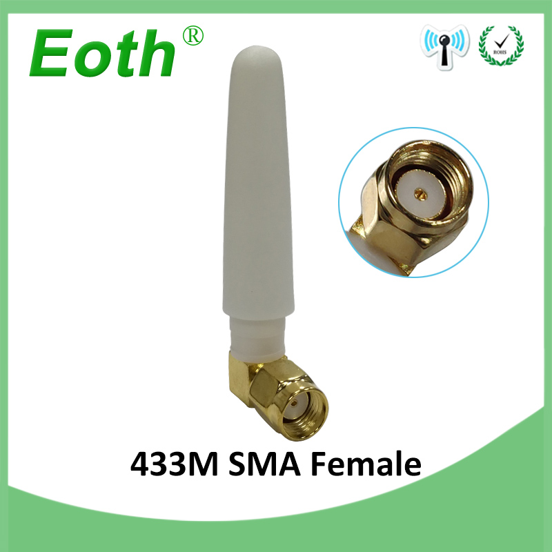 1pcs 433MHz Antenna 2.5dbi RP-SMA Connector 433 Mhz Directional Antena Waterproof Antenne For Lorawan Watermeter Gasmeter 433m
