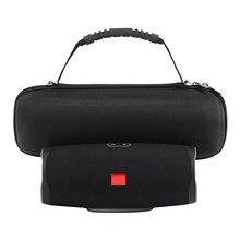 Besegad sac de rangement Portable transportant pochette de protection étui rigide avec bandoulière pour JBL Charge 4 haut parleur Bluetooth sport