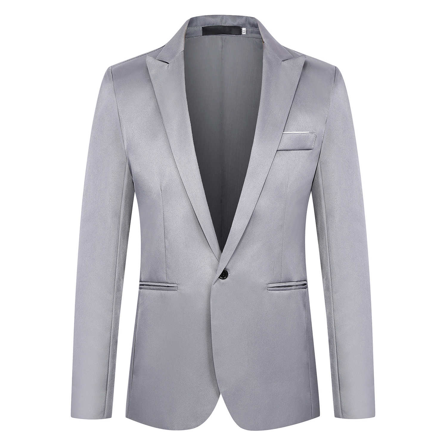 Fashion Brand Blazer British's Style casual Slim Fit suit jacket male Blazers men coat Plus Size 6XL CGU 88
