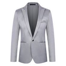 Fashion Brand Blazer British's Style casual Slim Fit suit ja