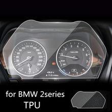 Para bmw série 2 220i 225i m240i instrumento do carro painel protetor de tela tpu película protetora