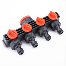 Hose Pipe Splitter 1Pcs ABS Plastic Drip Irrigation Water Connector Home Garden Supplies Tap Connectors Agricultural Portable garden water connectors palisad 66425 splitter plastic round tap connectors