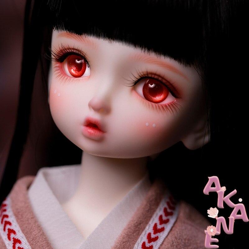 BJD Doll Akane 1/6 Body Model Boys Girls  Resin Gift Toys Free Eye Balls Fashion Joint Doll