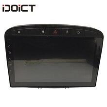 IDOICT Android 9.1 samochodowy odtwarzacz DVD nawigacja GPS dla Peugeot 408 dla Peugeot 308 308SW RCZ Audio Radio Stereo jednostka główna