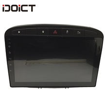 IDOICT Radio con GPS para coche, Radio con reproductor DVD, Android 9,1, navegador Navi, estéreo, para Peugeot 408, 308SW, RCZ