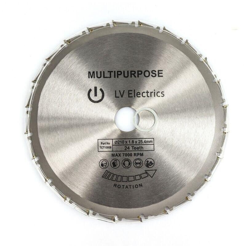 1pcs Wood Cutting Metal Circular Saw Blades For Tiles Ceramic Wood Aluminum Disc Diamond Cutting Blades 210mm