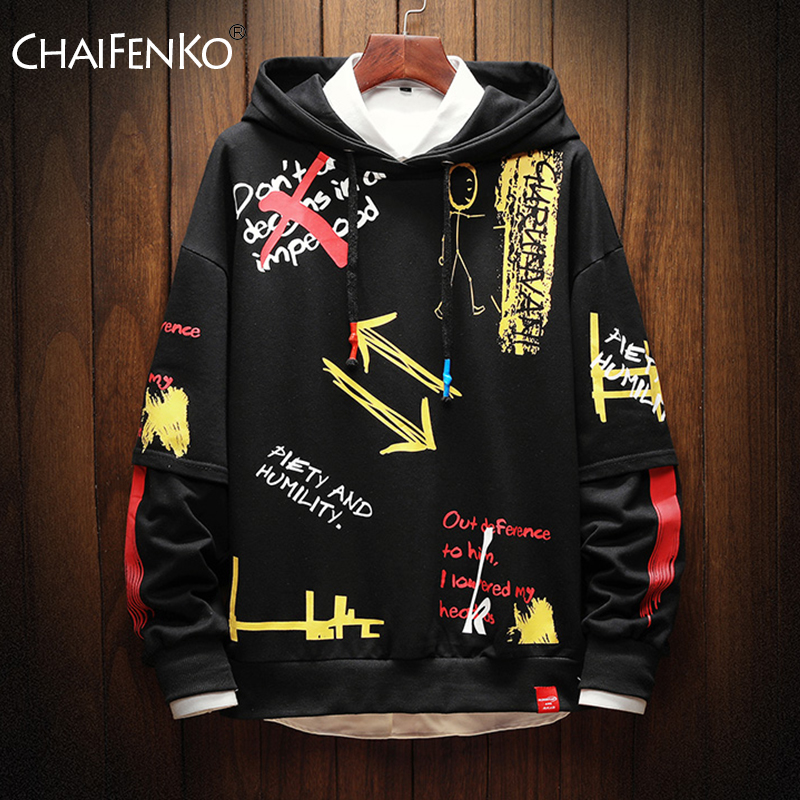 2020 New Fashion Brand Men Hoodies Spring Autumn Casual Printing Hoodies Sweatshirts Men Street Hip hop Hoodies Sweatshirt Tops